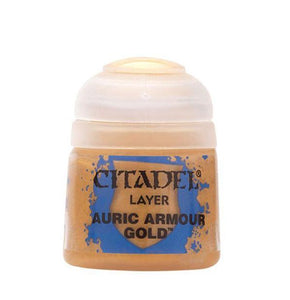Citadel Layer: Auric Armour Gold Generic Games Workshop  (5026713206921)