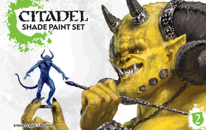 Citadel Shade Paint Set Generic Games Workshop  (5026720415881)