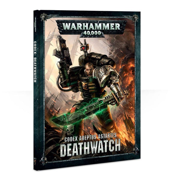 Codex: Deathwatch Warhammer 40000 Games Workshop  (5026457092233)
