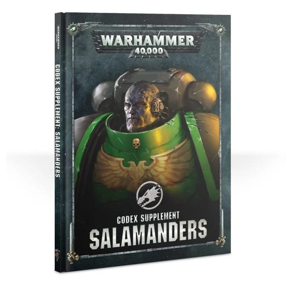 Codex: Salamanders Warhammer 40000 Games Workshop  (5026442870921)