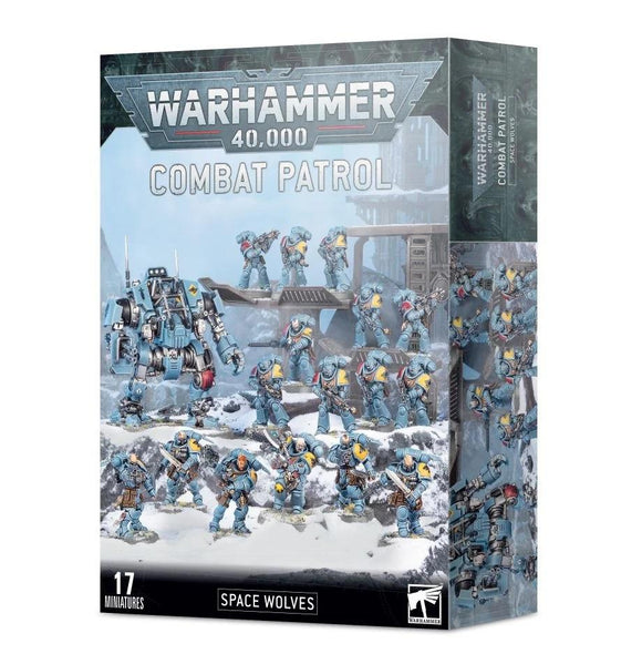 Combat Patrol: Space Wolves Space Marines Games Workshop
