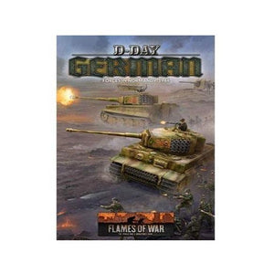 """D-Day Germans"" (Ty 80P A4 Hb) Flames of War Battlefront  (5026725331081)"