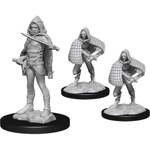 Darkling Elder & Darklings D&D RPG Miniatures Wizkids