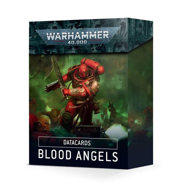 Datacards: Blood Angels Space Marine Games Workshop