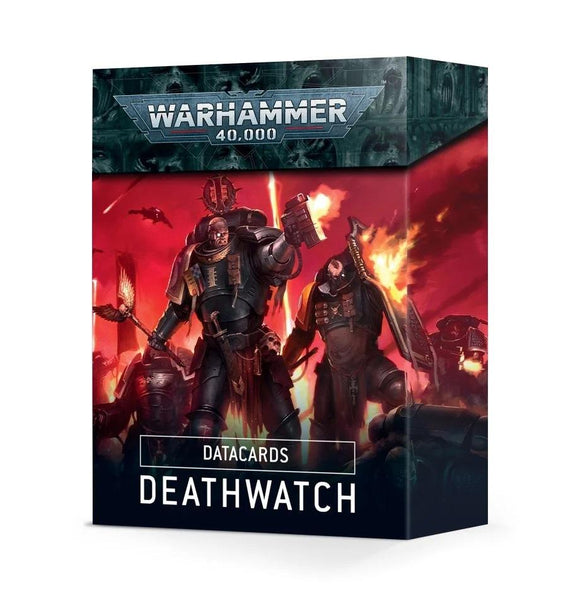Datacards: Deathwatch Space Marines Games Workshop