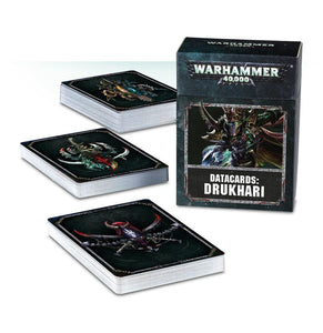 Datacards: Drukhari Warhammer 40000 Games Workshop  (5026452701321)