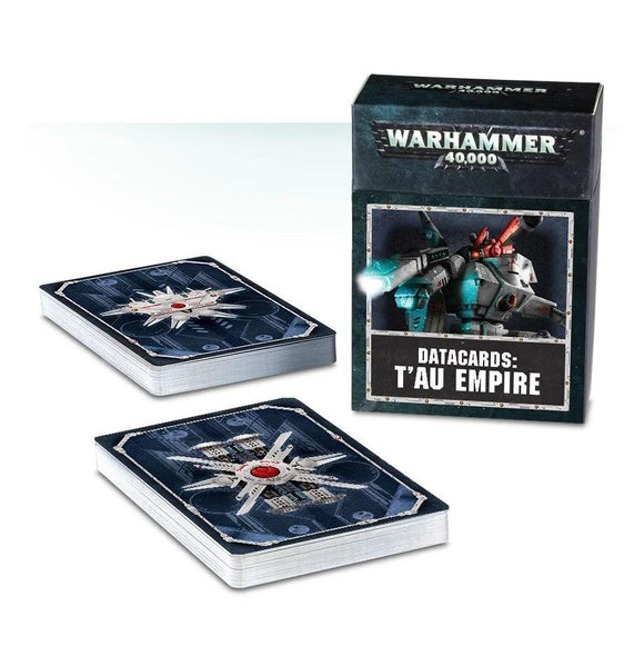 Datacards: T'au Empire Warhammer 40000 Games Workshop  (5026442805385)