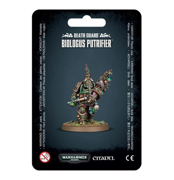Death Guard Biologus Putrifier Warhammer 40000 Games Workshop  (5026454306953)