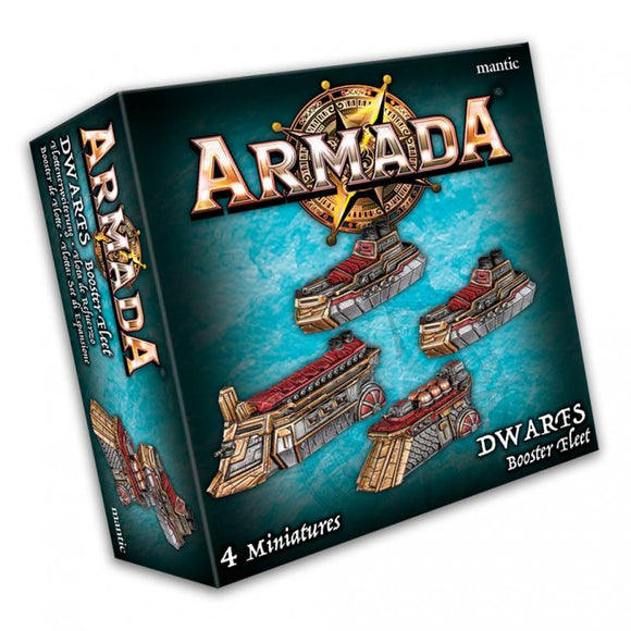 Dwarf Booster Fleet Armada Mantic Games