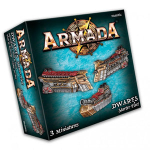 Dwarf Starter Fleet Armada Mantic Games