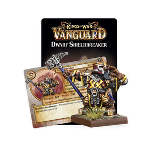 Dwarf Support Pack: Shieldbreaker Vanguard Mantic Games  (5026518892681)