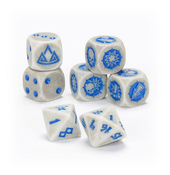 Dwarf Team Dice Set Blood Bowl Games Workshop