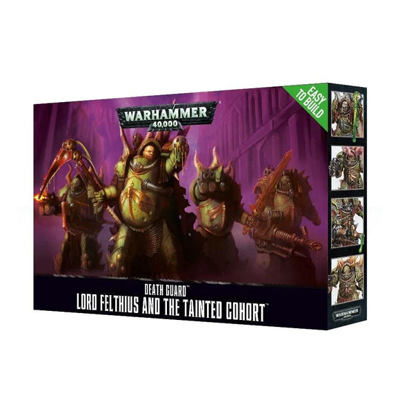 Easy To Build Lord Felthius & The Tainted Cohort Warhammer 40000 Games Workshop  (5026428616841)