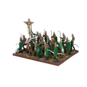 Elf Bowmen Regiment Kings of War Mantic Games  (5026528329865)