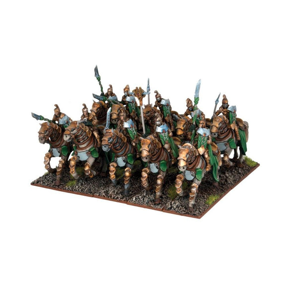 Elf Stormwind Cavalry Regiment Kings of War Mantic Games  (5026528231561)