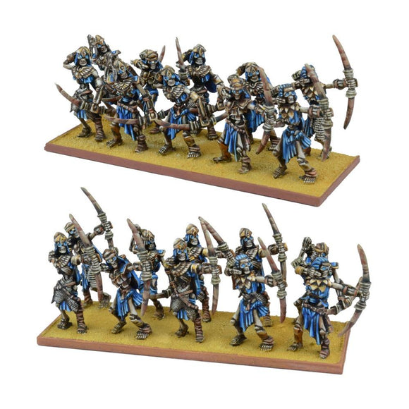 Empire Of Dust Skeleton Archer Regiment Kings of War Mantic Games  (5026521415817)