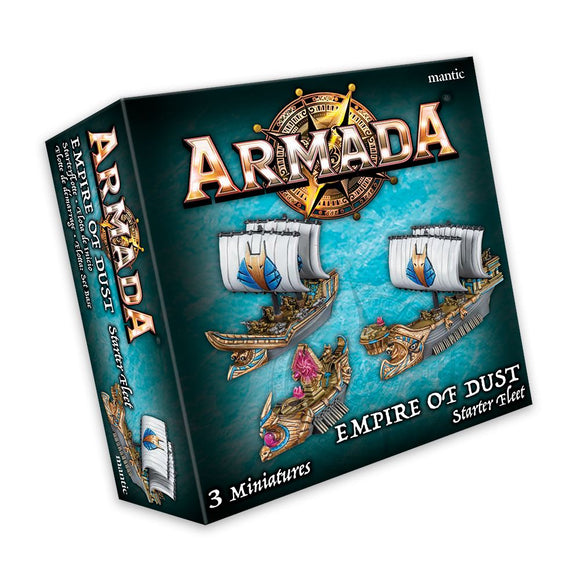 Empire of Dust Starter Fleet Armada Mantic Games