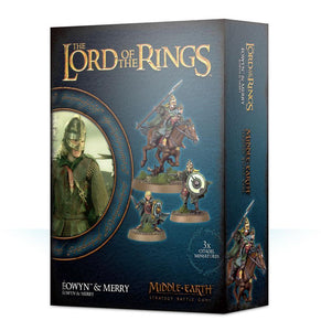 Eowyn & Merry LOTR/The Hobbit Games Workshop  (5026535178377)