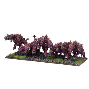 Forces Of The Abyss - Hellhound Troop Kings of War Mantic Games  (5026531016841)