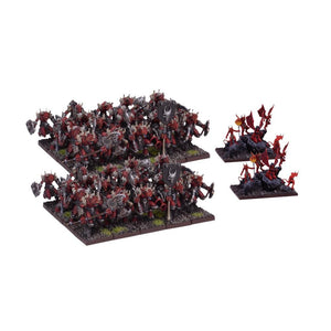 Forces Of The Abyss - Lower Abyssals Horde Kings of War Mantic Games  (5026531475593)