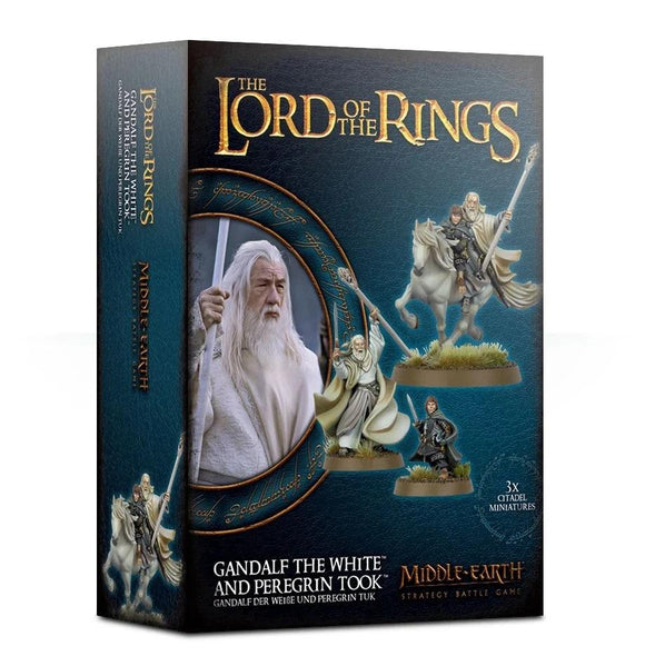 Gandalf The White & Peregrin Took LOTR/The Hobbit Games Workshop  (5026535342217)