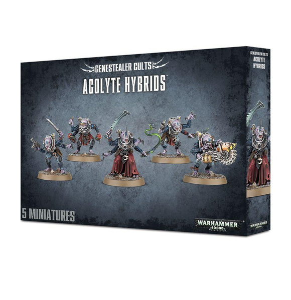 Genestealer Cults Acolyte Hybrids Warhammer 40000 Games Workshop  (5026445066377)