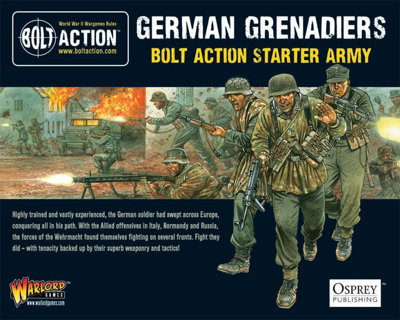 German Grenadiers Starter Army Warlord Minis Warlord Games