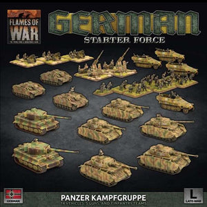 "German Lw ""Panzer Kampfgruppe"" Army Deal Flames of War Battlefront  (5026725101705)"