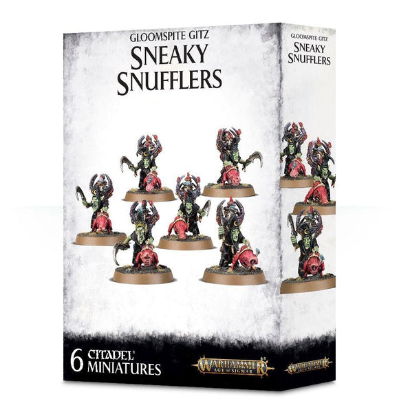 Gloomspite Gitz Sneaky Snufflers Warhammer Games Workshop  (5026474131593)