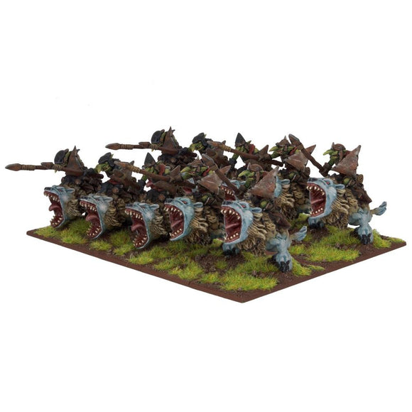 Goblin Flebag Riders Kings of War Mantic Games  (5026523185289)