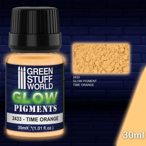 Gsw Glow In The Dark - Time Orange Pigments Green Stuff World