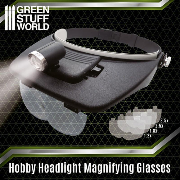 GSW Head Light Magnifying Glasses Hardware Green Stuff World