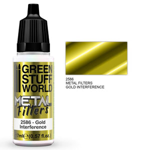 GSW Metal Filters - Gold Interference Metal Filters Paints Green Stuff World