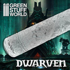 GSW Roller Dwarven Texture Rollers Green Stuff World
