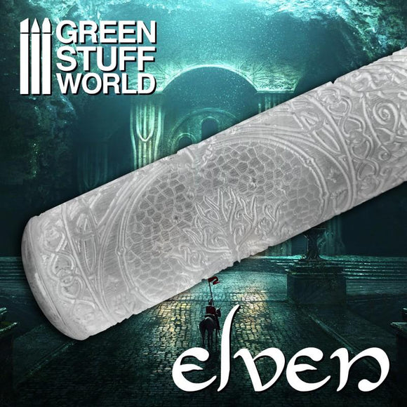 GSW Roller Elven Texture Rollers Green Stuff World