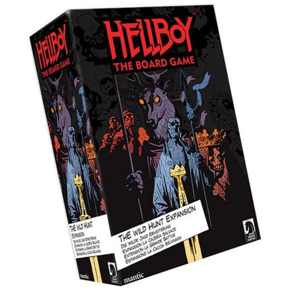 Hellboy: The Wild Hunt Board Game Expansion Hellboy Mantic Games