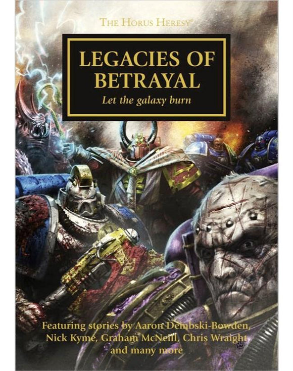 Horus Heresy: Legacies Of Betrayal (Pb) Warhammer 40000 Games Workshop  (5026438480009)