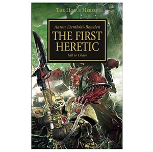 Horus Heresy: The First Heretic Warhammer 40000 Games Workshop  (5026436513929)