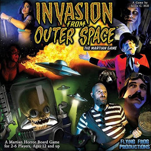 Invasion From Outer Space Boardgames Flying Frog Productions  (5026702426249)