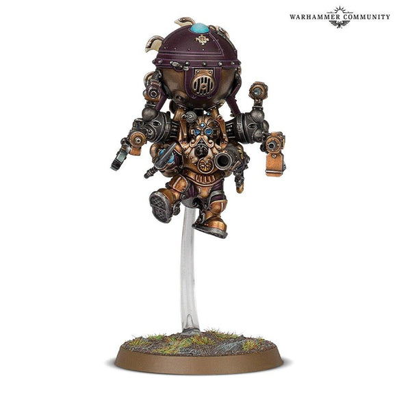 Kharadron Endrinmaster In Dirigible Suit Sons Of Behemat Games Workshop