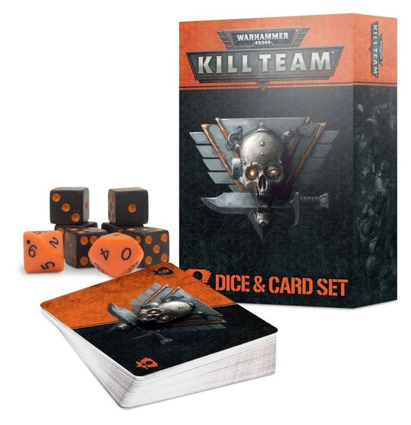 Kill Team: Dice & Card Set Warhammer 40000 Games Workshop