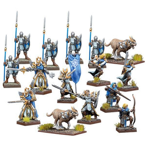 Kings Of War Vanguard: Basilean Warband Set Vanguard Mantic Games  (5026519154825)