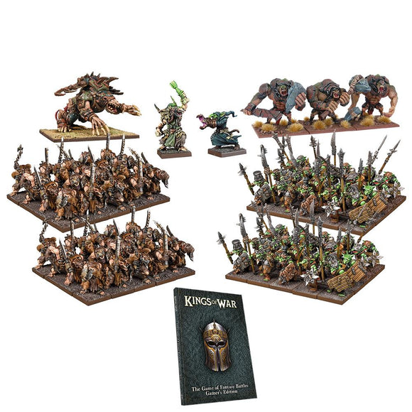 Kings of War: War in the Holds Starter Set KOW Generic Mantic Games