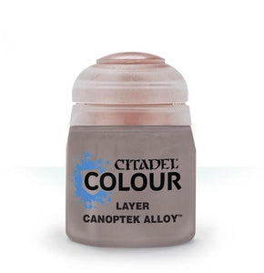 Layer: Canoptek Alloy (12ml) Paint - Layer Games Workshop