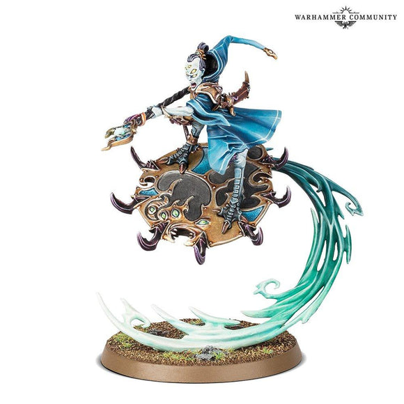 Magister On Disc Of Tzeentch Chaos Daemons Games Workshop
