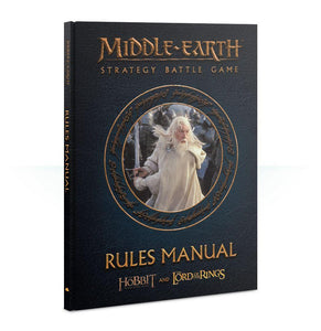 Middle-earth Strategy Battle Game: Rules Manual LOTR/The Hobbit Games Workshop  (5026536325257)