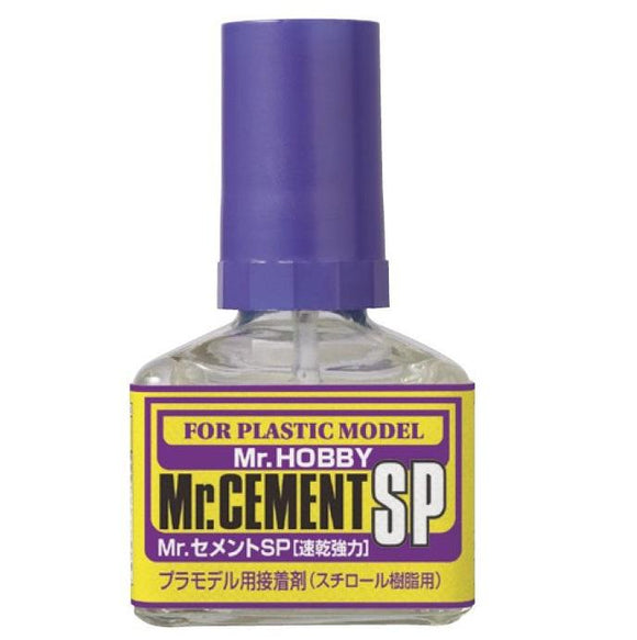 Mr Cement Sp Quick Dry Plastic Glue MrHobby