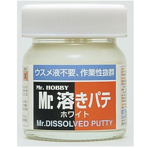 Mr.Dissolved Putty Sculpting MrHobby