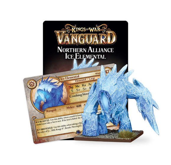 Na Support Pack: Ice Elemental Vanguard Mantic Games  (5026517745801)