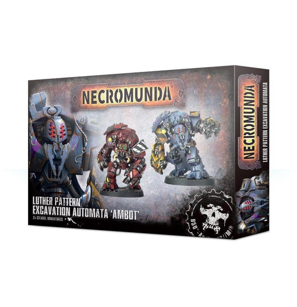 Necromunda Ambot Automata Generic Games Workshop  (5026459254921)